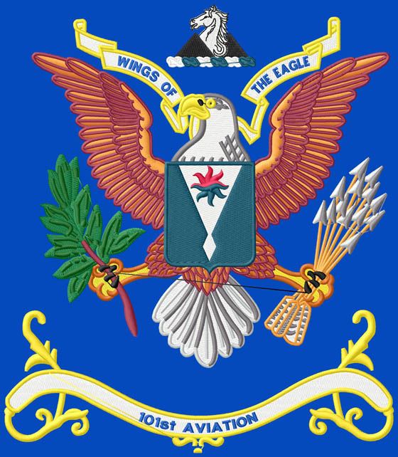 101st AVIATION BN COLORS