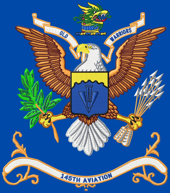 145th Aviation BN Colors