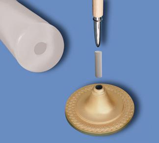 Guidon Pole Bottom Ferrule Adapter