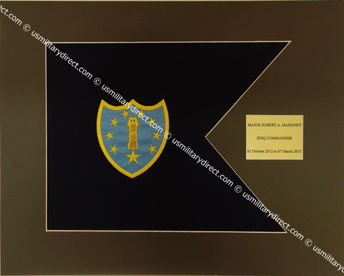 Army Framed Guidon (Small) Style #2
