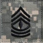 E-8 First Sergeant ACU Rank
