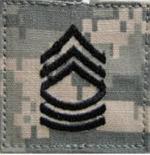 E-8 Master Sergeant ACU Rank