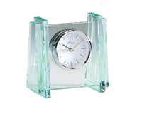 Elegant Glass Desk Clock #2