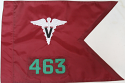 "20""x27.5"" Veterinary Guidon"