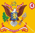 6th Cavalry Battalion Colors