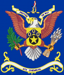 472nd Chemical Battalion Colors