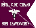 "11""x14"" Dental Command Guidon (Single)"