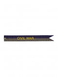"2.75"" Civil War Streamer"