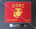 USMC framed Guidon (Medium)Style #1