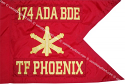"20""x27.5"" Air Defense Artillery Guidon"