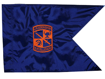 "6""x8"" ROTC Guidon #3"