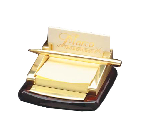 Elegant business card stand