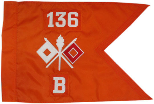 "20""x27.5"" Signal Corps Guidon"