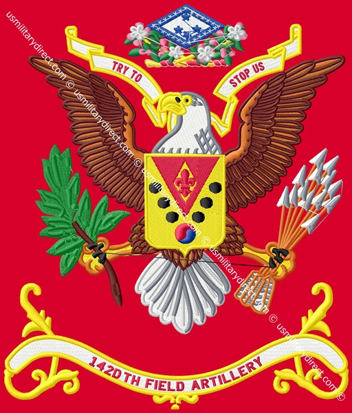 142nd Field Artillery Battalion Colors