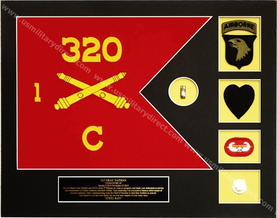 Army Framed Guidon (Medium) Style #6