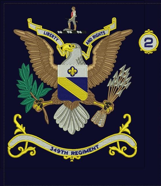349th Regiments Colors