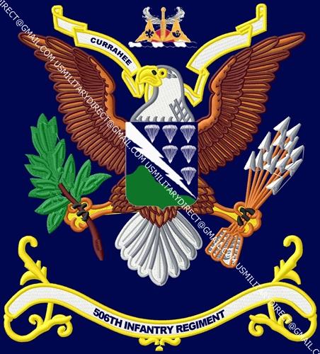 506th Infantry Battalion Colors