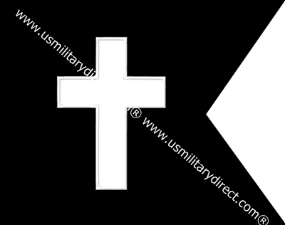 "11""x14"" Chaplain Guidon (Single)"