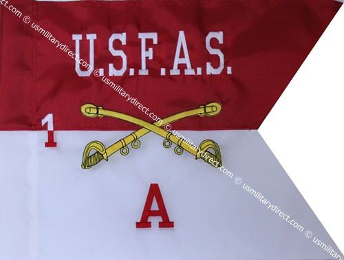 "11""x14"" Cavalry Guidon #2 (Single)"
