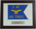 Air Force Framed Guidons (Small) Style #1