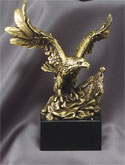 American Eagle Series Resin Sculptures