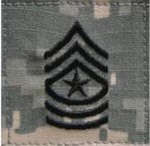 E-9 Sergeant Major ACU Rank