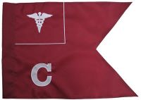 "20""x27.5"" Medical Guidon #2"