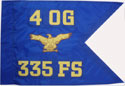 "20""x27.5"" Air Force Guidons (Single-sided)"