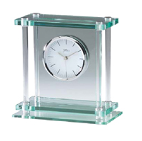 Elegant Glass Desk Clock #3