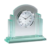 Elegant Glass Desk Clock #4