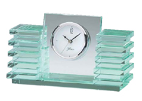 Elegant Glass Desk Clock #5