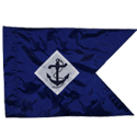 "11""x14"" Navy Guidons (Single-sided)"