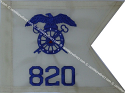 "8""x10""Quartermaster Guidon(Single )"