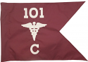 "20""x27.5"" Medical Guidon"
