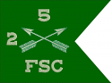 """6""""x8""""  Special Forces Guidon (Single)"""