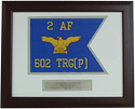Air Force Framed Guidon (Large) Style #1