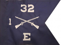 "8""x10""Infantry Guidon(Single )"