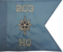 "11""x14"" Military Intelligence Guidon"