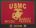 Marine Framed Guidon (Large) Style #4